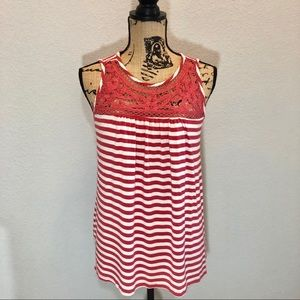 French Laundry Striped Tank